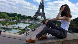 Parisdə Yaşayan Azərbaycanlı Qız