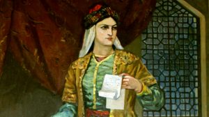 Məhsəti Gəncəvi - Dünyanın İlk Şahmatçı Qadını